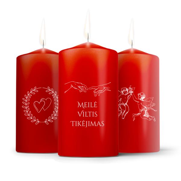 Žvakės | Meilės tema