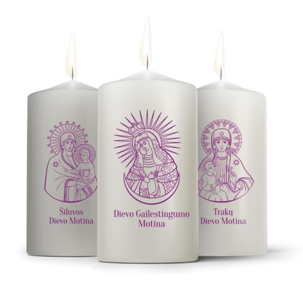 Žvakės | Šiluvos Dievo Motina | Dievo Gailestingumo Motina | Trakų Dievo Motina